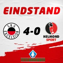 TERUGBLIK: KNVB Beker: Excelsior – Helmond Sport (4-0)